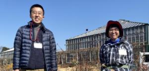 山本ファーム山本さんと京成バラ園園長